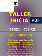 Inicio Taller Inicial Seccion 21 2-2012 (1)