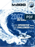 1997 Seadoo GTX Shop Manual | Carburetor | Leak