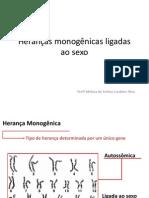 Herancas Monogenicas Ligadas Ao Sexo