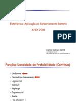 Distribuicao Continua Prof. Camilo Daleles Renno Do INPE