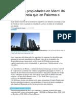 IMPPPP con precios a estrenar en baires, Invertir en propiedades en Miami da más ganancia que en Palermo o Recoleta