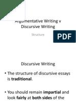 argumentative structure