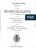 Military Searchlights (1912)