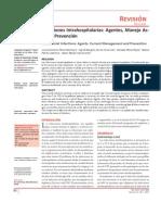 Infecciones Intrahospitalarias - Agentes, Manejo Actual y Prevención