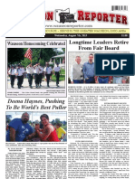 The Wauseon Reporter - August 7th, 2013
