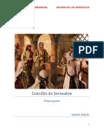 Concilio de Jerusalen-Primera Parte.