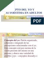 Concepto Del Yo y Autoestima en Adultos.