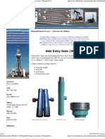 Side Entry Subs (Welded) _ Oil Rig Drill String Accessories _ Downhole Oil Tools, Inc