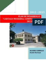 7 Plan de Desarrollo Cartago 2012 2015