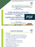ILO - Gender and Decent Rural Emloyment_disc
