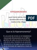 HIPERAMONEMIA