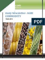 Daily Agri News Letter 07 Aug 2013