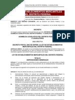 Ley de Establecimientos Mercantiles 2011