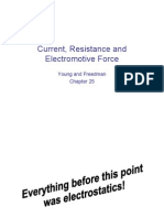 electrical current and resistance physics