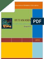 Monografia de La Eutanasia
