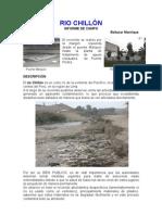 RIO CHILLÓN- informe