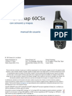 GPSmap 60CSx Garmin - Manual de usuario