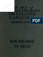 Art of Writing - Sherwin - Vol 6 What to Read