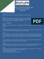 1. Reglamento MONUFE 2012