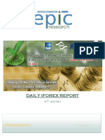 Daily i Forex Report 7 AUGUST 2013