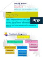 Lecture Slides for Manufacturing Processes