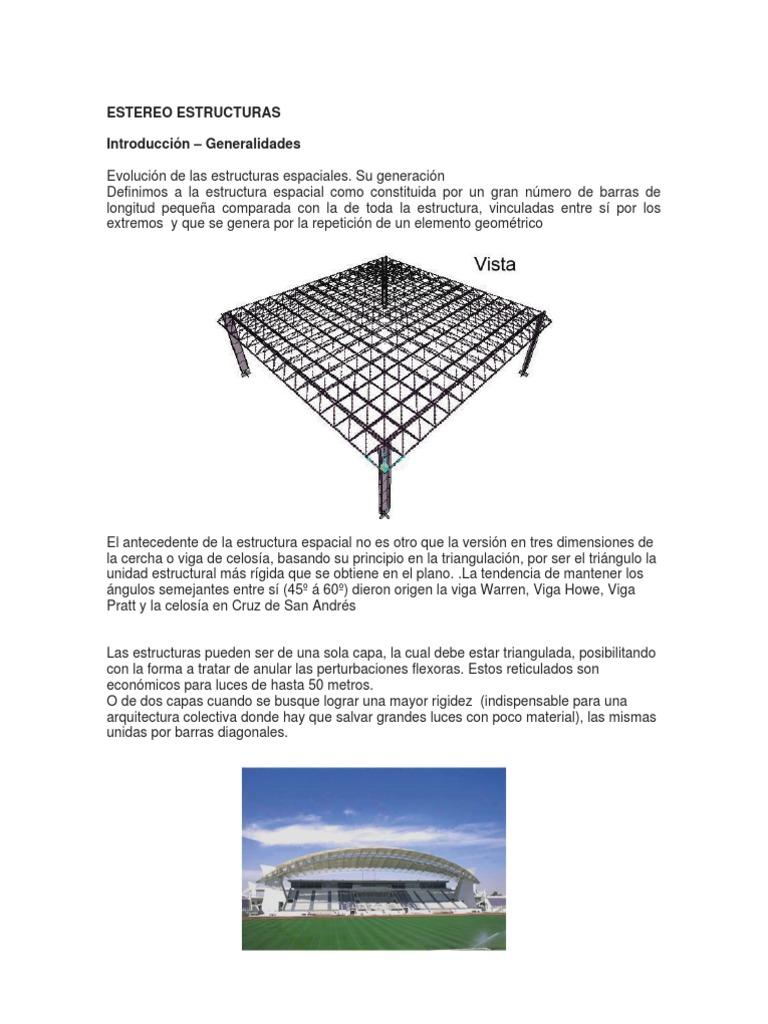 estereo estructuras
