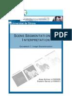 Secene Image Segmentation