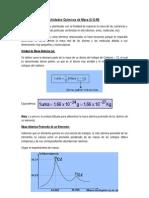 Unidades Químicas de Masa