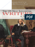 The 100 Most Influential Writers of All Time