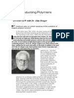2)Conducting Polymers-Interview With Dr.alanHeeger