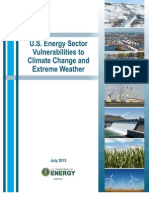 US Energy Sector Vulnerabilities to Climate Change
