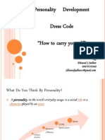 Personality Development, Dress Code & How to Carry Yourself