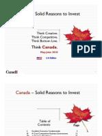 Think Canada May - June 2010 USA Edition