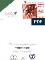 World Youth Congress Turkiye 2010 Booklet