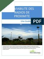 LA VIABILITE DES RADIOS DE PROXIMITE - Une Guide Formation (Radio for Peacebuilding Africa, SFCG – 2010)