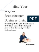 Journaling Your Way to Breakthrough Business Insights