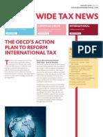 BDO World Wide Tax News. August 2013 ISSUE 32