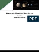 Wawasan Mutakhir Tata Surya