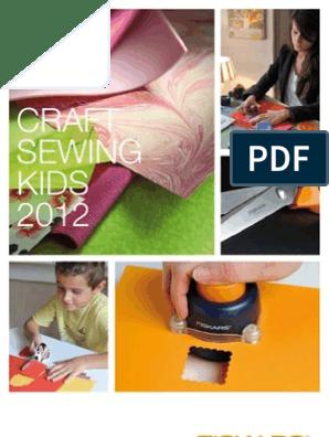 Fiskars 9808 Curved 4 Inch Scissors Craft Sewing Detail Maximum Control NEW!