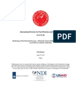 ISFED Monitoring of Post-Election Processes-3rd Report