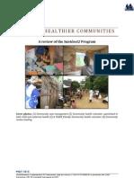 BUILDING HEALTHIER COMMUNITIES, A review of the Santénet2 Program (Santénet2 – 2013)
