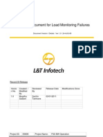 FSS BW Operations - Load Monitoring Document