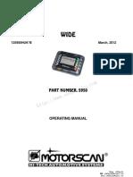 Moto 7000tw Motorcycle Scan Tool Manual 135950huk b