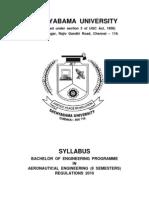 AERO B.E. Final Syllabus