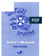 Winners and Losers. A Careers Education game  by Tony Crowley