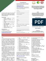 Brochure ICSET 2013
