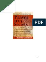 Prayer DNA Secrets