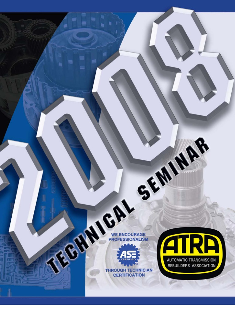 2008 atra seminar manual1 transmission mechanics clutch fandeluxe Image collections