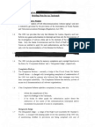 Interception of Communications - Briefing Note for Taoiseach