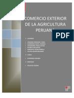 Comercio Exterior de La Agricultura Peruana